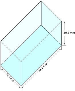 This graphic shows an illustration of a container.