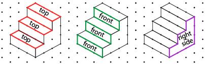Isometric Dot Drawings Isometric Drawing