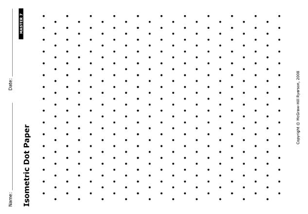 Isometric Dot Drawings Isometric Dot Paperwhen